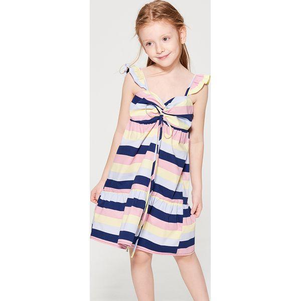 1afd15ab9f Sukienka z falbanami dla dziewczynki little princess - Wielobarwn ...