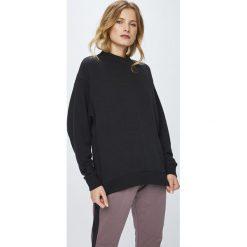 Reebok - Bluza. Czarne bluzy damskie Reebok, z bawełny. W wyprzedaży za 179.90 zł.