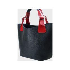 Skórzana torebka do ręki , na ramię. Niebieskie torby na ramię damskie Pracownia6-9. Za 145.00 zł.