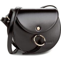Torebka MONNARI - BAG0610-020 Black. Czarne listonoszki damskie Monnari, ze skóry ekologicznej. W wyprzedaży za 99.00 zł.