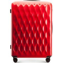 Walizka duża 56-3H-553-30. Białe walizki damskie Wittchen, z gumy. Za 219.00 zł.