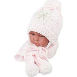 Czapka niemowlęca z szalikiem CZ+S 001A biała. Czapki dla dzieci marki Reserved. Za 38.76 zł.