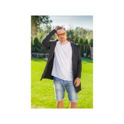 BLUZA ME-IN-HOOD black. Czarne bluzy męskie Taff.one, z jeansu. Za 309.00 zł.
