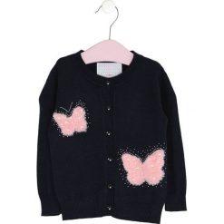 Granatowy Sweter To Float. Swetry dla dziewczynek marki bonprix. Za 49.99 zł.