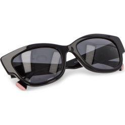 Okulary przeciwsłoneczne MARELLA - Rock 38010182  002. Czarne okulary przeciwsłoneczne damskie Marella. W wyprzedaży za 339.00 zł.