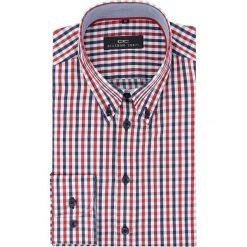 Koszula BIAGIO slim 16-03-02-K. Czerwone koszule męskie Giacomo Conti, z bawełny, button down, z długim rękawem. Za 149.00 zł.
