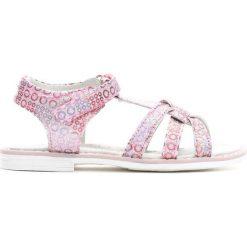 Różowe Sandały Indian Girl. Sandały dziewczęce marki bonprix. Za 39.99 zł.