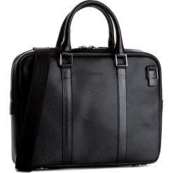 Torba na laptopa KAZAR - 28268-16-00 Czarny. Czarne torby na laptopa męskie Kazar, w paski, ze skóry. W wyprzedaży za 479.00 zł.