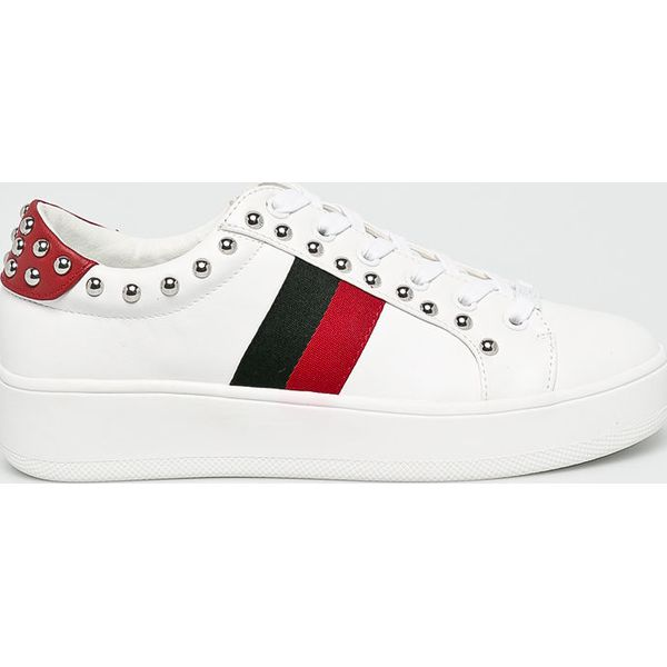 5e70778eb4f6 Steve Madden - Buty Belle - Szare obuwie sportowe damskie marki ...