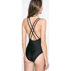 Answear - Strój kąpielowy Brave Soul for Answear. Szare kostiumy jednoczęściowe damskie ANSWEAR. W wyprzedaży za 69.90 zł.
