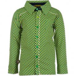 """Koszula """"Arrows"""" w kolorze zielono-czarno-żółtym. Koszule dla chłopców marki bonprix. W wyprzedaży za 102.95 zł."""