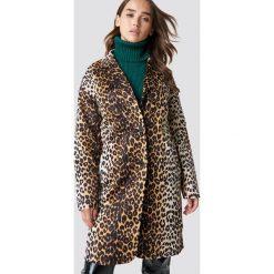 NA-KD Trend Kurtka z nadrukiem w panterkę - Brown,Multicolor. Brązowe kurtki damskie NA-KD Trend, z motywem zwierzęcym. Za 283.95 zł.