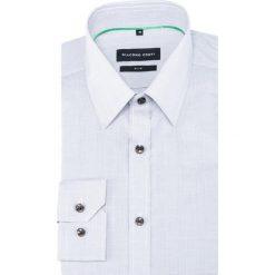 KOSZULA KDPS000330 SIMONE. Szare koszule męskie Giacomo Conti, w kratkę, z bawełny, z klasycznym kołnierzykiem. Za 259.00 zł.