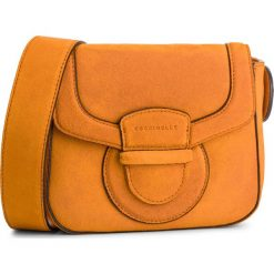 Torebka COCCINELLE - DS1 Vega Suede E1 DS1 55 01 01 Flash Orange R12. Brązowe listonoszki damskie Coccinelle, ze skóry. Za 1,099.90 zł.