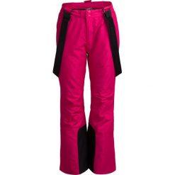 Spodnie narciarskie damskie SPDN600 - różowy - Outhorn. Czerwone spodnie materiałowe damskie Outhorn. Za 199.99 zł.