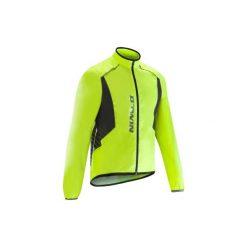 Kurtka przeciwdeszczowa na rower szosowy ROADCYCLING 500 męska. Żółte kurtki męskie B'TWIN. Za 119.99 zł.