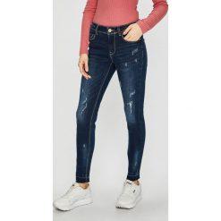 Jacqueline de Yong - Jeansy Fling. Niebieskie jeansy damskie Jacqueline de Yong. Za 149.90 zł.