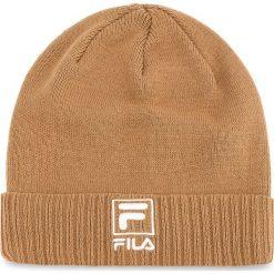Czapka FILA - Slouchy F-Box Beanie 686013 Camel J87. Brązowe czapki i kapelusze damskie Fila. Za 109.00 zł.