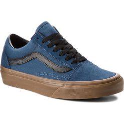 Tenisówki VANS - Old Skool VN0A38G1U4C (Gum Outsole) Dark Denim. Niebieskie trampki męskie Vans, z denimu. W wyprzedaży za 239.00 zł.