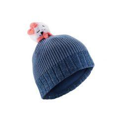 Czapka OURS. Czerwone czapki i kapelusze damskie WED'ZE. Za 59.99 zł.