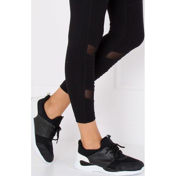 Ultra lekkie buty sportowe czarne BY 069 BLACK