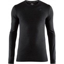 Craft Koszulka Sportowa Męska Fuseknit Comfort Ls Black M. Czarne koszulki sportowe męskie Craft, na zimę, z długim rękawem. Za 135.00 zł.
