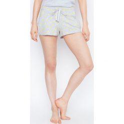 Etam - Szorty piżamowe Sea-short Smiley World. Niebieskie piżamy damskie Etam. W wyprzedaży za 34.90 zł.