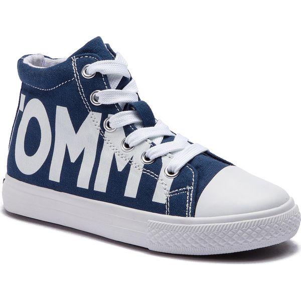 7524b2757c284 Trampki TOMMY HILFIGER - High Top Lace-Up Sneaker T3B4-30275-0618 ...