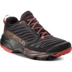 Buty LA SPORTIVA - Akasha 26Y999202 Black/Tangerine. Czarne buty sportowe męskie La Sportiva, z materiału. W wyprzedaży za 539.00 zł.