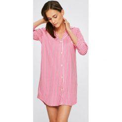 Lauren Ralph Lauren - Koszula piżamowa. Różowe koszule nocne damskie Lauren Ralph Lauren, z bawełny. Za 349.90 zł.