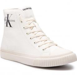 Trampki CALVIN KLEIN JEANS - Icaro S0594 Bright White. Białe trampki męskie Calvin Klein Jeans, z gumy. Za 519.00 zł.