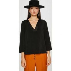 Vero Moda - Bluzka. Szare bluzki damskie Vero Moda, z elastanu. W wyprzedaży za 99.90 zł.