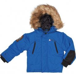 Kurtka zimowa w kolorze niebieskim. Niebieskie kurtki i płaszcze dla chłopców Peak Mountain, na zimę. W wyprzedaży za 215.95 zł.
