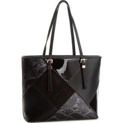Torebka JENNY FAIRY - RC9474C Black. Czarne torebki do ręki damskie Jenny Fairy, z materiału. Za 119.99 zł.