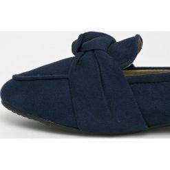 Answear - Baleriny Lily Shoes. Brązowe baleriny damskie ANSWEAR, z gumy. W wyprzedaży za 59.90 zł.