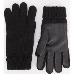 Rękawiczki - Czarny. Rękawiczki męskie marki FOUGANZA. W wyprzedaży za 49.99 zł.