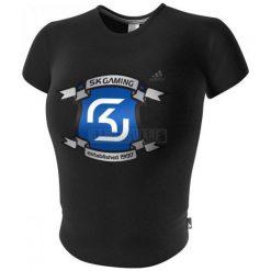Adidas SK Logo Top czarna (40) ( 7115-40 ). Czarne t-shirty i topy dla dziewczynek Adidas. Za 189.17 zł.
