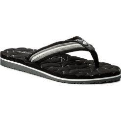 Japonki TOMMY HILFIGER - Comfort Low Beach Sandal FW0FW02368  Black 990. Czarne klapki damskie Tommy Hilfiger, z materiału. W wyprzedaży za 119.00 zł.