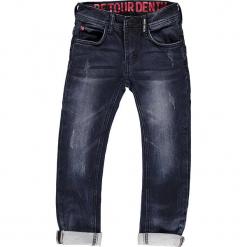Dżinsy - Slim fit - w kolorze granatowym. Jeansy dla chłopców marki Reserved. W wyprzedaży za 129.95 zł.