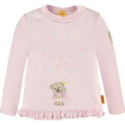 Bluza w kolorze jasnoróżowym. Bluzy dla niemowląt Steiff. W wyprzedaży za 62.95 zł.