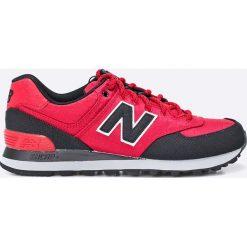 New Balance - Buty ML574PTB. Czerwone buty sportowe męskie New Balance. W wyprzedaży za 239.90 zł.