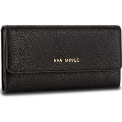 Duży Portfel Damski EVA MINGE - Caridad 2Y 17NB1372186EF  101. Czarne portfele damskie Eva Minge, ze skóry. W wyprzedaży za 139.00 zł.