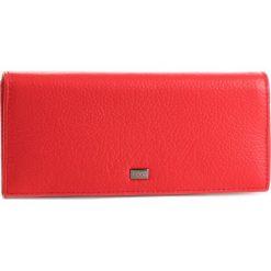 Duży Portfel Damski NOBO - NPUR-LG0140-C005  Czerwony. Czerwone portfele damskie Nobo, ze skóry. W wyprzedaży za 159.00 zł.
