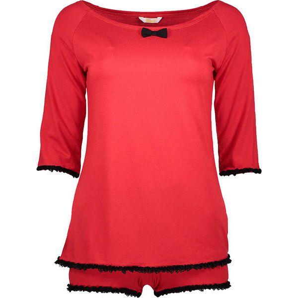 588ac654f32bb9 Piżama w kolorze czerwonym - Czerwone piżamy damskie Kalimo, w ...
