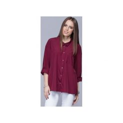 Luźna koszula oversize bordo H010. Białe koszule damskie Harmony. Za 135.00 zł.