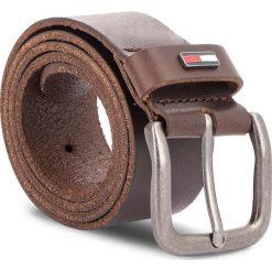 Pasek Męski TOMMY JEANS - Tjm Flag Loop Giftbo AM0AM04136 261. Brązowe paski damskie Tommy Jeans, w paski, z jeansu. Za 179.00 zł.