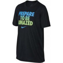 Nike Koszulka B Nk Dry Leg Tee To Be Amazed Black Xl. T-shirty dla chłopców marki Reserved. Za 89.00 zł.