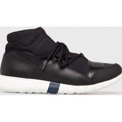 Trussardi Jeans - Buty. Czarne buty sportowe męskie TRUSSARDI JEANS, z jeansu. Za 599.90 zł.
