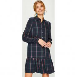 Answear - Sukienka Nomad. Czarne sukienki damskie ANSWEAR, z tkaniny, casualowe, z długim rękawem. W wyprzedaży za 139.90 zł.