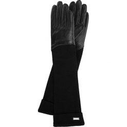 Rękawiczki damskie 45-6-521-1. Czarne rękawiczki damskie Wittchen, z wełny. Za 159.00 zł.